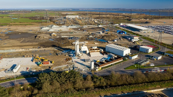 Tarmac, Forth Ports to create UK's largest construction materials terminal